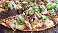 A delicious summer pizza made on the grill to keep the kitchen cool!