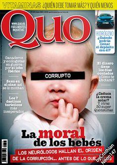 QUO España - Junio 2016 - Corrupto, la moral de los bebés, hallan el orígen de la corrupción