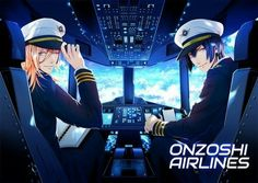 Shining Airlines! Masa-kun! And Jinguji-sama.......