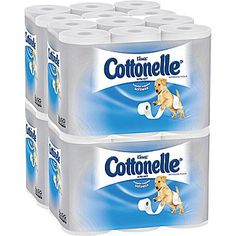 #Staples: 48-Rolls of Cottonelle Ultra Soft Standard Roll Bathroom Tissue / Toilet Paper for $13.80 at Staples #LavaHot http://www.lavahotdeals.com/us/cheap/48-rolls-cottonelle-ultra-soft-standard-roll-bathroom/97785