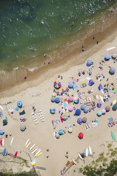 Montauk, Point Beach Vertical | Gray Malin