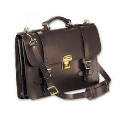 Filson® Leather Field Satchel   Filson Leather Briefcase