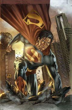 Superman Breaking Ground