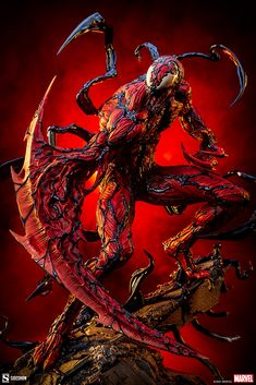 Carnage Premium Format Figure | Sideshow Collectibles Cletus Kasady, White Eyes, Sideshow Collectibles, Black Ops, Marvel