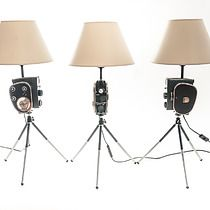 Lampa Kamera Filmowa ~ Vintage DESIGN, Design