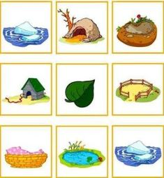 animals and their homes printables (3)