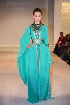 blue green abaya - minus all those strands