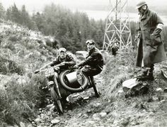 Sam Seston on his factory BSA, at Muirshearlich in the 1957 Scottish Six Days Trial