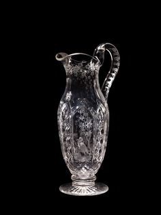 American Glass: Cut and Engraved Pitcher by Gillinder and Sons | Corning Museum of Glass