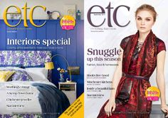 Not one but two covers this month. #Interiors special for Sussex and Horsham, and M&S fashion cover for Hampshire and East Sussex. #September issue