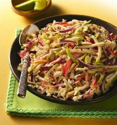 Mexican style coleslaw