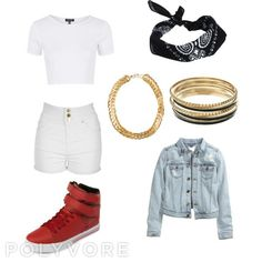 """Outfit inspired by: EXID in """"Ah Yeah"""" MV"""