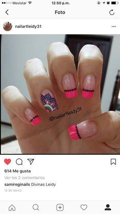 Nail Art Noel, Mani Pedi, My Nails, Nail Designs, Sexy, Interior, Beauty, Designed Nails, Brown Nails