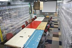 Old door conference table  olmansju:    An interview with Tiffany Threadgould, Chief Design Junkie at TerraCycle