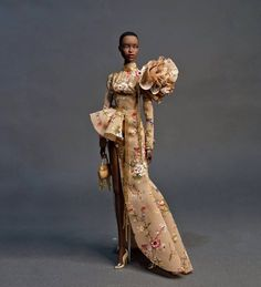 """cholo ayuyao on Instagram: """"Adele Makeda in Cho:lo #cholodollcouturephilippines #hautecouture #luneville #handmade #doll #dollcouture #dollfashionphotography"""" Adele, Barbie Dolls, Fashion Photography, Handmade, Instagram, Dresses, Photos, Haute Couture, Fashion Styles"""