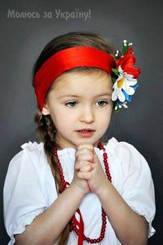 Praying for peace in Ukraine ❤ - One of my absolute favourite photos of a Ukrainian child! Just love this one!