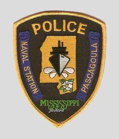 naval base security police | ... naval de pascagoula ms pascagoula naval station police ms shoulder