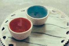 NonaBruna — Two small bowls with dots
