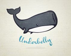Logo Design: More Whales - i don't care what you say, whales are adorable, here's a whole post full of them!