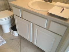 Worn out vanity, before Cypress Pine, Tray, Vanity, Kitchen, Home, Dressing Tables, Powder Room, Cooking, Vanity Set