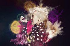 K-pop G -Dragon BIGBANG Asian Home Decoration Canvas Poster Print 24x36 inch Silk Poster wall decor $9.99