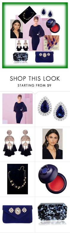 """""""Bez naslova #86"""" by julia-772 ❤ liked on Polyvore featuring Joseph Ribkoff, Area Stars, Ettika, WithChic, Charlotte Russe and INC International Concepts"""