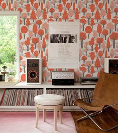 Totally want a music room in my future home to display all my vinyl.