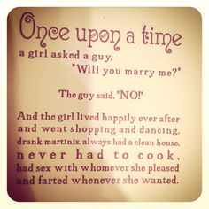 Once Upon A Time . . .