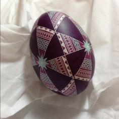 Love the colors....Easter egg design.