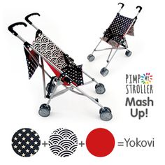 Monday mash-up ! Celebrating Brighton Fringe and Brighton Festival.... Meet Yokovi, Tokyo meets NYC. Hip, hand made mash up toy stroller....  Order online - select Bonjovi and add 'Mash Up' at the checkout www.pimpmystroller.co.uk :::::: Limited availability :::::: Order online, select Bonjovi and add MASH UP at the checkout.  www.pimpmystroller.co.uk/shop/bon-jovi-various/