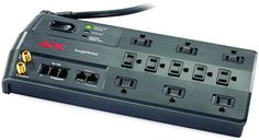 APC 11Outlet Surge Protector 3020 Joules with Phone Network Ethernet and Coaxial Protection SurgeArrest Performance P11VNT3 *** Visit the image link more details.