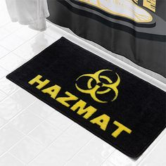 Hazmat Bath Mat - Exclusive Additional Image
