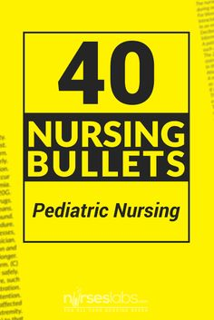 Extend and further strengthen your knowledge about the concepts of Pediatric Nursing with these 40 Nursing Bullets. Nursing Board, Ob Nursing, Nursing Tips, Nursing Major, Child Nursing, Nursing Degree, Nursing Career, Maternity Nursing, Rn Nurse