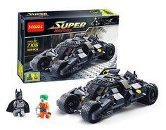 7105 Batman The Tumbler Batmobile Batwing Joker Super Heroes Decool Building Block Bricks Set Minifigures Compatible With #clothing,#shoes,#jewelry,#women,#men,#hats,#watches,#belts,#fashion,#style