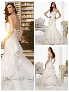 4d0ae4e7fc1cf FASHION TRUMPET MERMAID SWEETHEART BEADED LACE WEDDING DRESSES Popular Wedding  Dresses