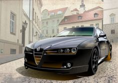 Alfa-Romeo-159 Alfa Romeo Brera, Alfa Romeo Gta, Alfa 159, Cool Cars, Planes, Diffuser, Spider, Classic Cars, Motorcycles