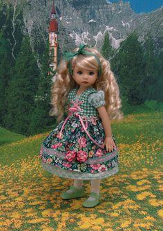 Tyrol pré gilet dirndl et robe avec tablier pour par DarlingLilBee