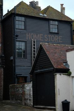 A G Hendy & Co's Home Store in Hastings, East Sussex. The shop & kitchen is in a three-storey Georgian townhouse built in 1823.
