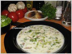 Ciorba de salata Cheeseburger Chowder, Soup, Meat, Chicken, Cooking, Salads, Essen, Beef, Soups