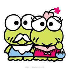 Happy Grandparents Day  |  #Events #Grandparents #GrandparentsDay #GrandparentsDay2012 Keroppi Wallpaper, Happy Grandparents Day, Sanrio Characters, Fictional Characters, Pochacco, Pixel Pattern, Favorite Cartoon Character, Little Twin Stars, Colorful Wallpaper