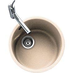 £110.99, Carron Phoenix Rondel 1.0 Bowl Granite Champagne Beige #Kitchen #Sink & Waste