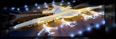 Archviz & architecture portfolio featuring my graduation project about designing a modern international airport which got featured at Archiprix. Airport Architecture, Graduation Project, Architecture Portfolio, International Airport, Opera House, Building, Design, Trendy Tree, Buildings