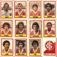 Sc Internacional, Football Stickers, School Football, Sports Clubs, Liverpool, All Star, Soccer, Baseball Cards, History
