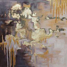 Abstract Art || Royal || Allie Snyder || STEPHANIE BRADSHAW, A Creative Studio