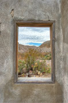 500px / Photo Window overlooking the Rio Grande River by Diana Robinson