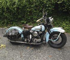 1947 Harley Davidson Knucklehead FL
