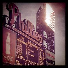 of course we visited the Philadelphia stadium