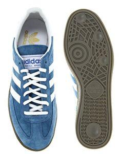 Enlarge Adidas Originals Handball Spezial Trainers – love those blue suede shoes.