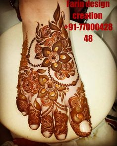 Image may contain: one or more people and food Rose Mehndi Designs, Khafif Mehndi Design, Henna Designs Feet, Full Hand Mehndi Designs, Mehndi Designs For Girls, Modern Mehndi Designs, Mehndi Design Pictures, Dulhan Mehndi Designs, Wedding Mehndi Designs