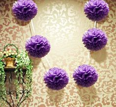 6-tissue-pom-pom-garland-dark-purple-1.gif (700×642)